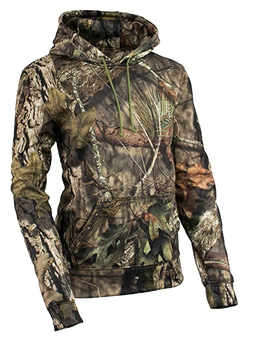 7827f407b5bf1 Milwaukee Performance Women's Pull Over Mossy Oak Camouflage Hoodie (Jungle  Mossy, X-Small): Amazon.in: Car & Motorbike