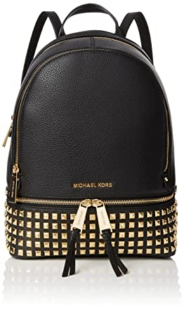 93317a397e1a Amazon.com: MICHAEL Michael Kors Women's Small Studded Backpack: Michael  Kors: Shoes