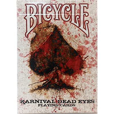 Bicycle Karnival Dead Eyes Playing Cards by USPCC: Toys & Games