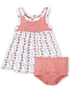 83acbaf78 Colored Organics Baby Girls' Organic Swing Tank Dress with Diaper Cover