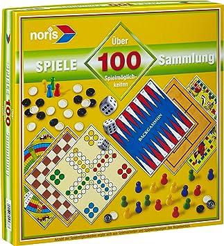Noris Spieleklassiker Spielesammlung Brettspiel Familie 100 Spielmöglichkeiten