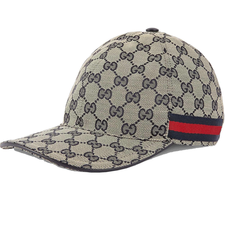 [グッチ] GUCCI キャップ GG キャンバスベースボール 帽子 [並行輸入品] B075VLM3FJ L ネイビー ネイビー L