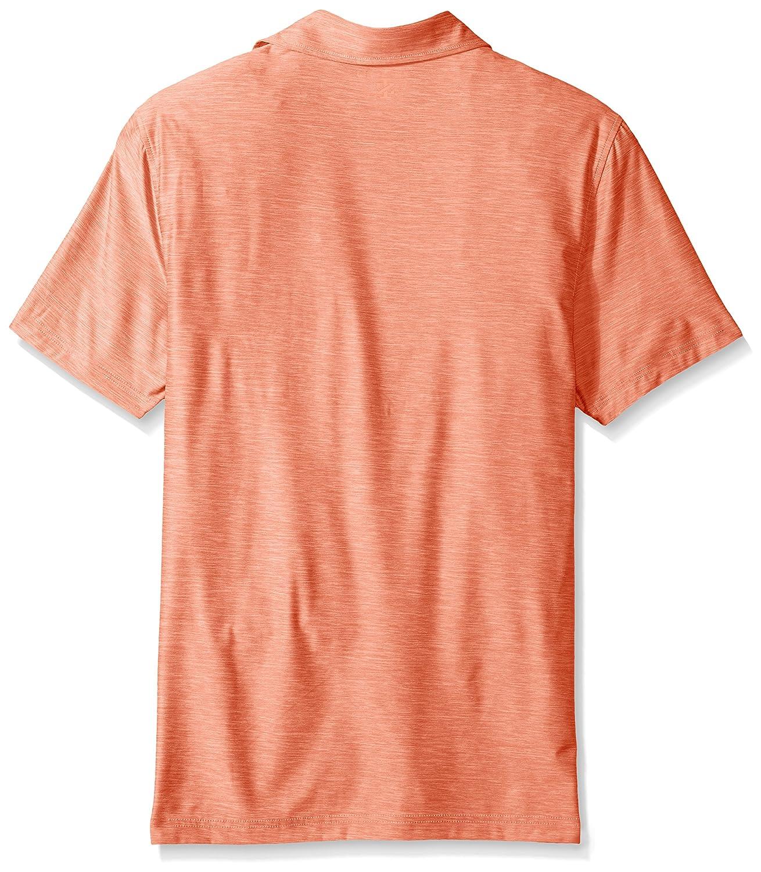 IZOD Men s Men Golf Title Holder Naranja Short Sleeve B07FCXNB4X ...