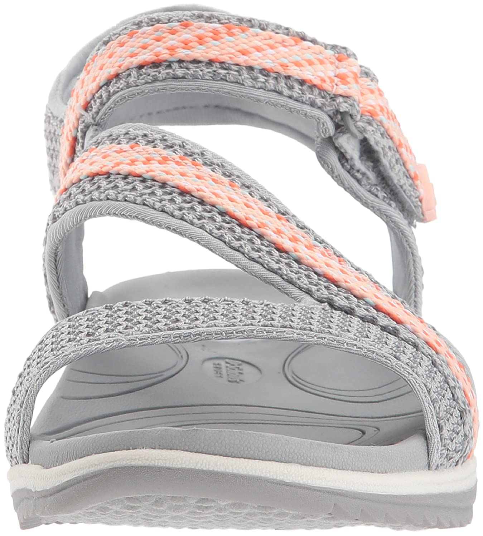 Dr. Scholl's Shoes Women's Daydream Slide Sandal B0767T3TTH 7.5 B(M) US|Frost Grey Mesh