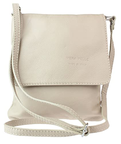 aab55ca70431 Girly HandBags New Genuine Leather Shoulder Bag Small Cross Body Messenger  Soft Leather Fashion - Beige