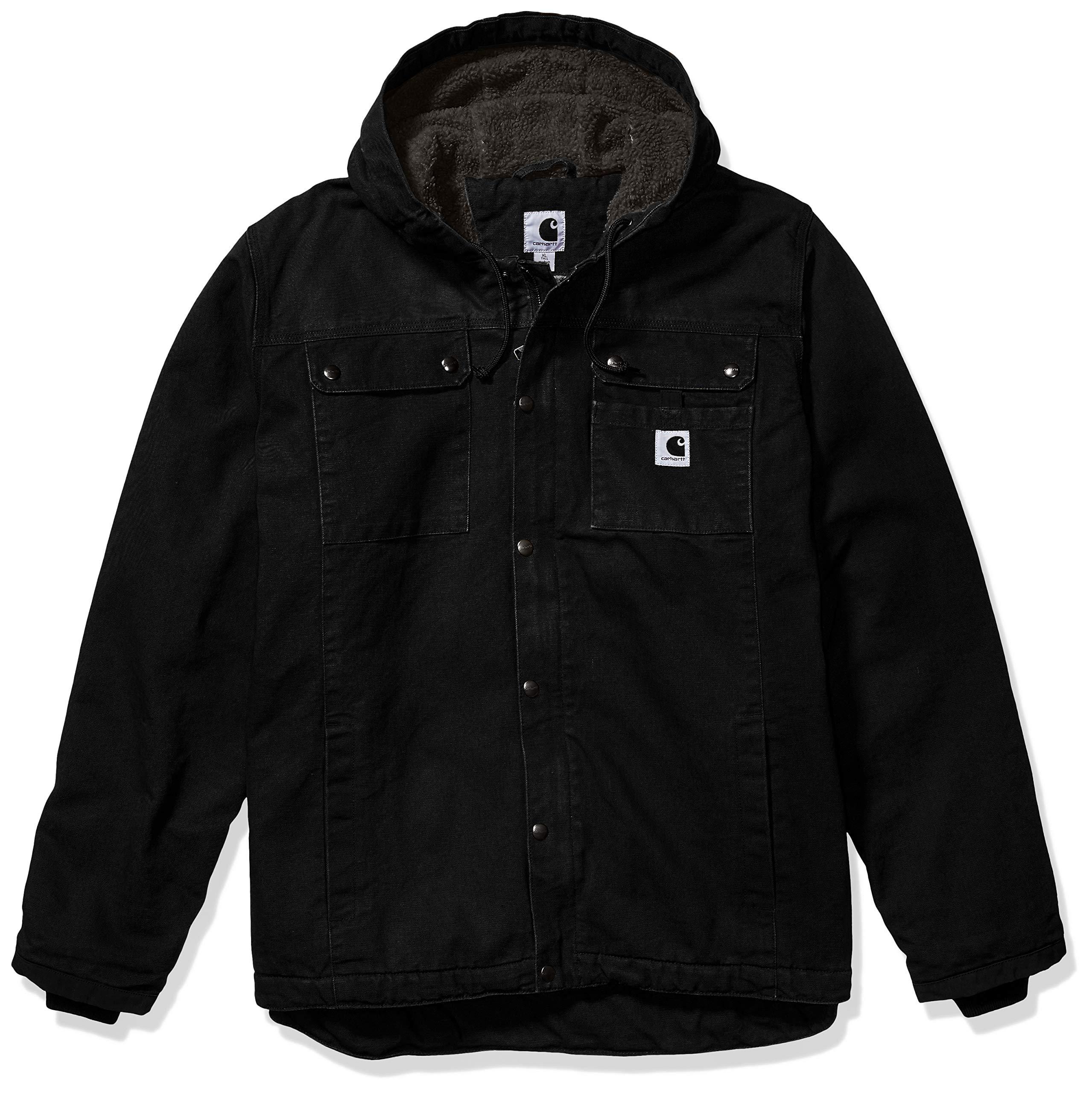 Carhartt Men's Bartlett Jacket (Regular and Big & Tall Sizes), Black, Large by Carhartt