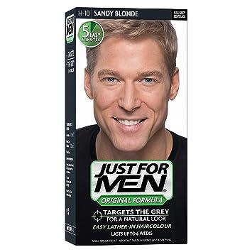 Just For Men H10 Hair Colour Original Formula Sandy Blonde