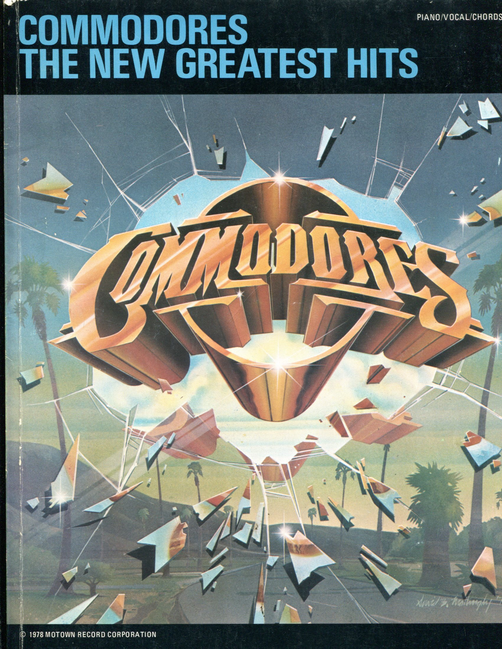 Commodores The New Greatest Hits Piano Vocal Chords Unknown