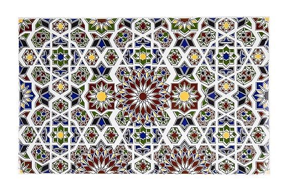 Marwa piastrelle marocchine 25x50 cm mattonelle in ceramica per