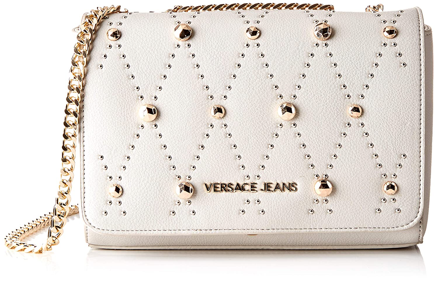 54ddf6228a Amazon.com: Versace EE1VTBBEB E807 Light Grey Shoulder Bag for Womens: Shoes