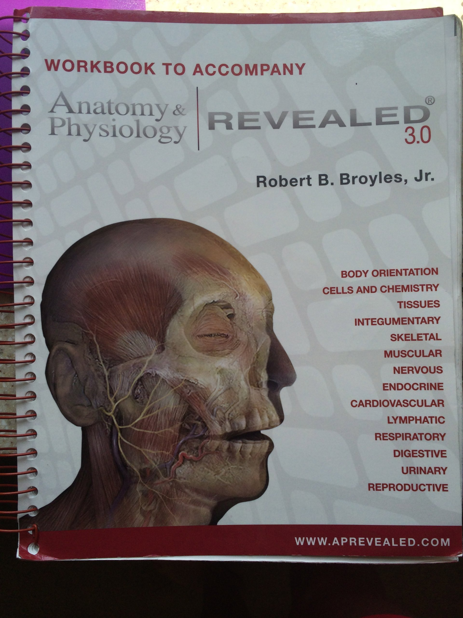 Workbook To Accompany Anatomy Physiology Revealed 30 Aa