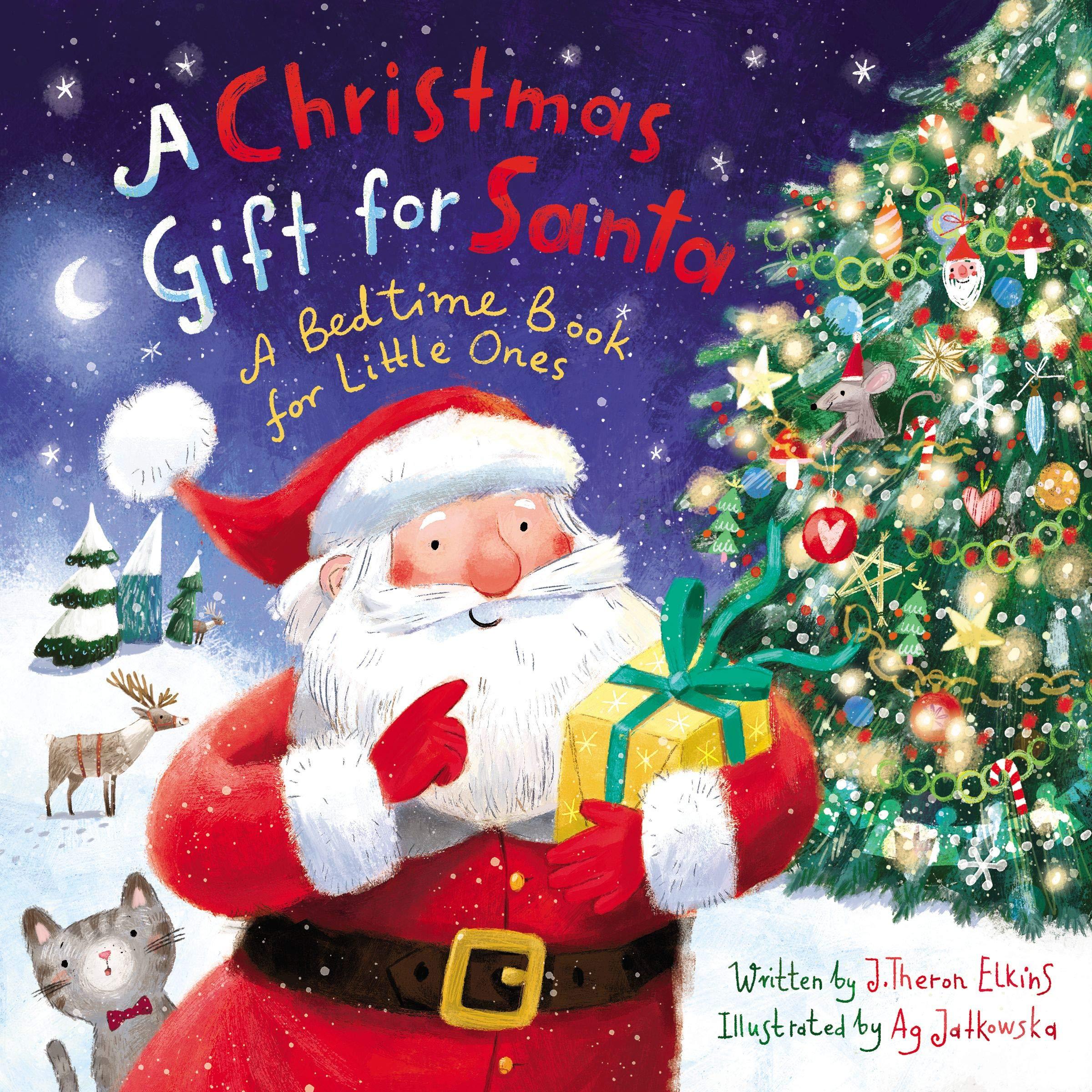 Amazon Com A Christmas Gift For Santa A Bedtime Book For Little Ones 0025986764432 Elkins John T Jatkowska Ag Books
