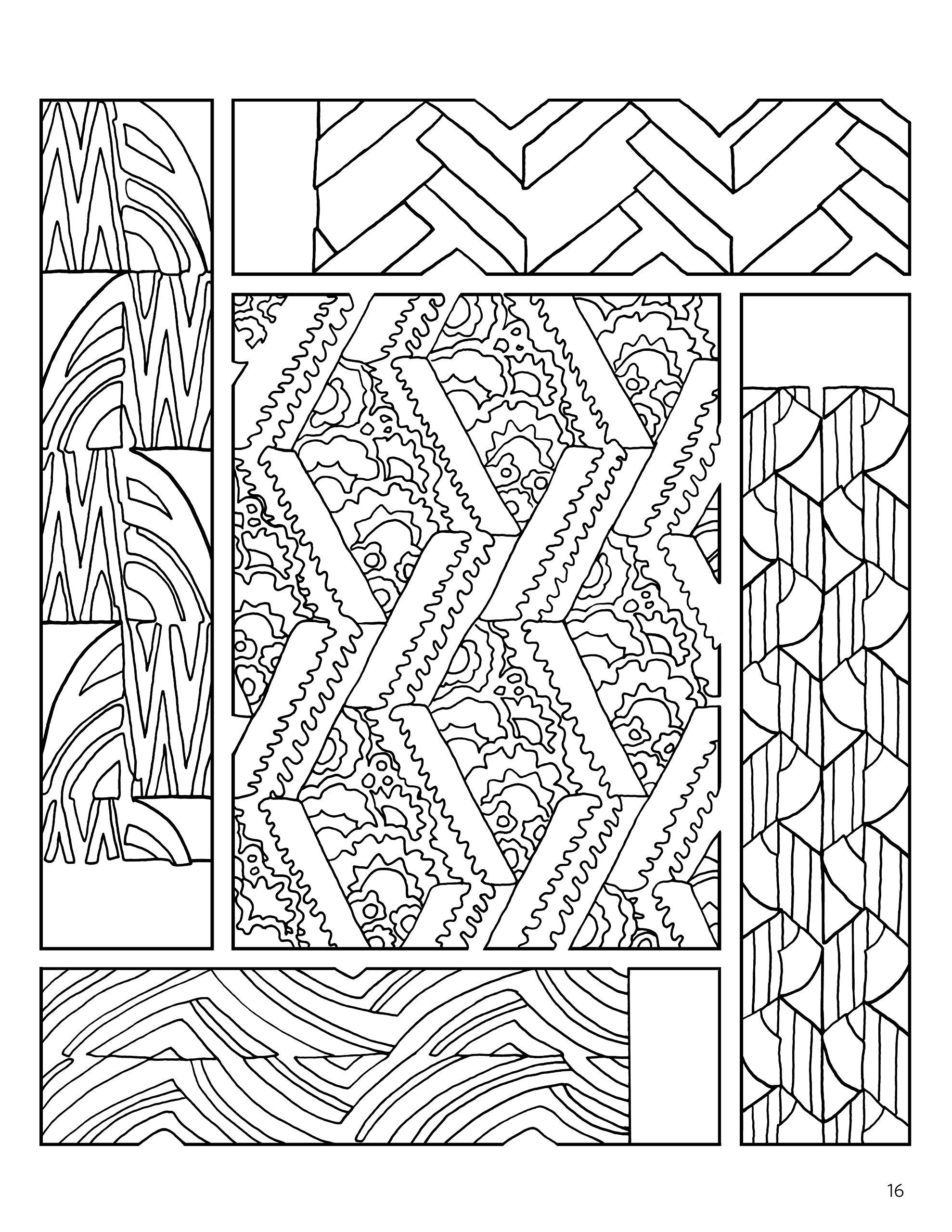 French Decorative Designs Coloring Book Pomegranate 9780764981395 Amazon Books