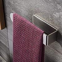 ZUNTO Handdoekring Zelfklevende Handdoekhouder Zonder Boren RVS Handdoekbeugel voor Badkamer en Keuken