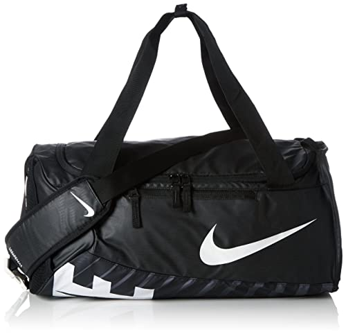 cc9ed4bb9b4f Nike Alpha Adapt Crossbody (Small) Duffel Bag Black White BA5183 100