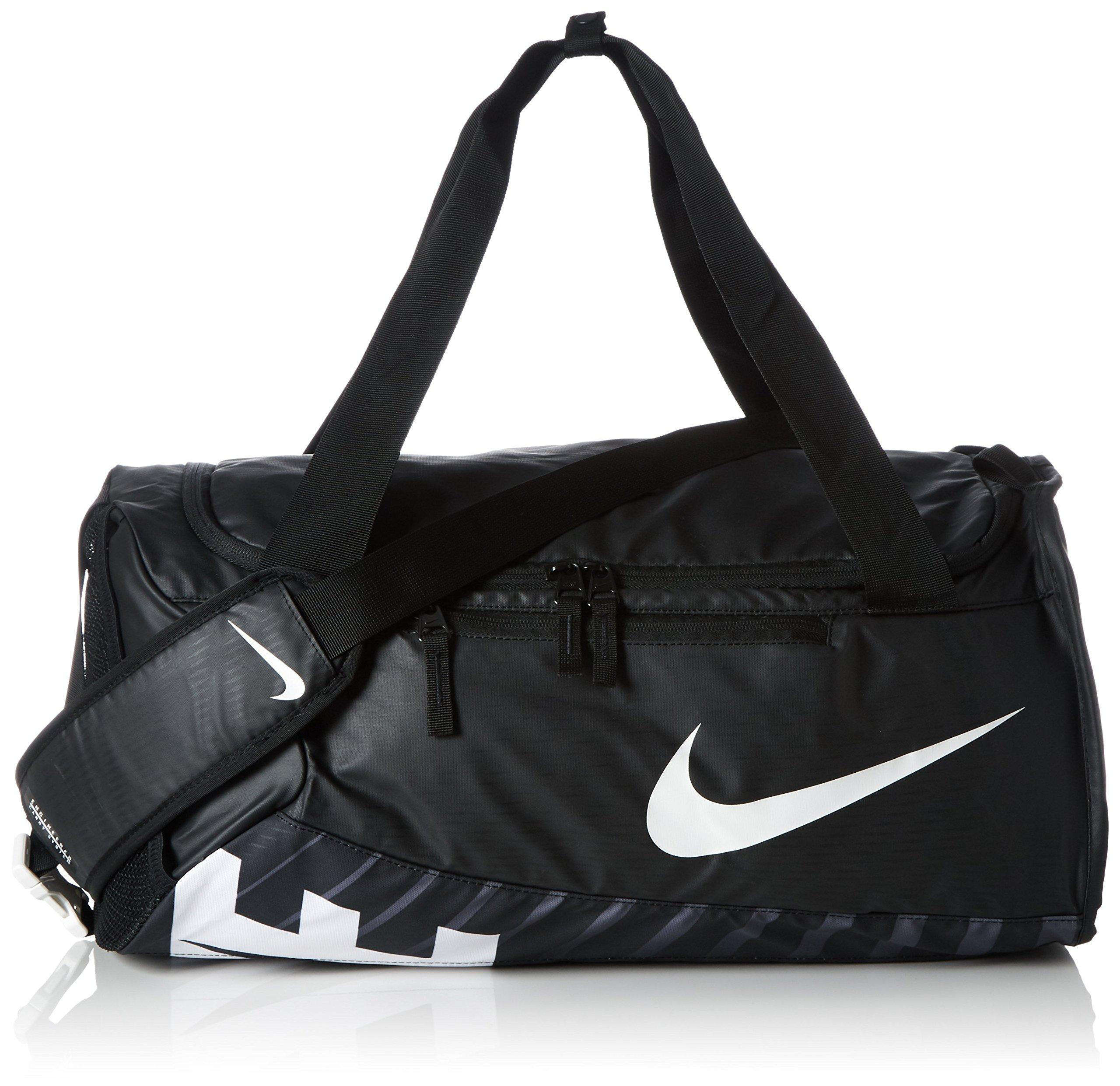 Nike Alpha Adapt Cross Body Medium Duffel Bag Black/White