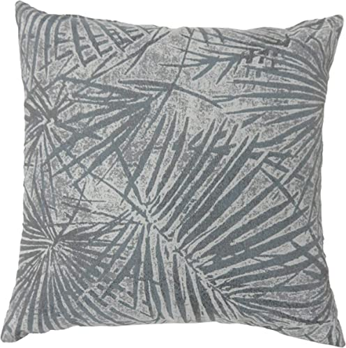 HOMES Inside Out Dechenne Throw Pillow, Gray