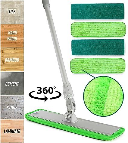 Amazon Microfiber Mop Hardwood Floor Cleaning Washable Pads