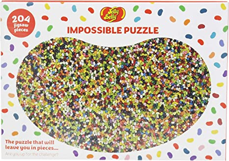 Bean 204 Piece Impossible Jigsaw Puzzle