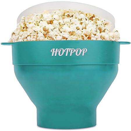 Hotpop - Popcorn para microondas (silicona, sin BPA, apto para ...