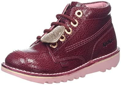 6a0fe439d007c3 Kickers Girls' Kick Hi Lthr If Boots: Amazon.co.uk: Shoes & Bags