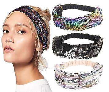 NEW Beautiful Glitter Headband Womens Girls Alice Hair Hairband Head Band