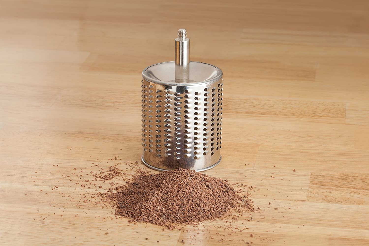 The Italian Market Original since 1906 Fantes Cheese Grater with Suction-Base and 2 Drums