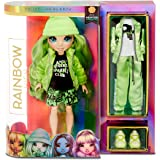 Rainbow High Rainbow Surprise Jade Hunter - Green Clothes Fashion Doll with 2 Complete Mix & Match Outfits and Accessories, T