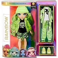 Rainbow High Modepop - Jade Hunter- Groene Pop met Glamoureuze Outfits, Accessoires en Poppenstandaard - Rainbow High…