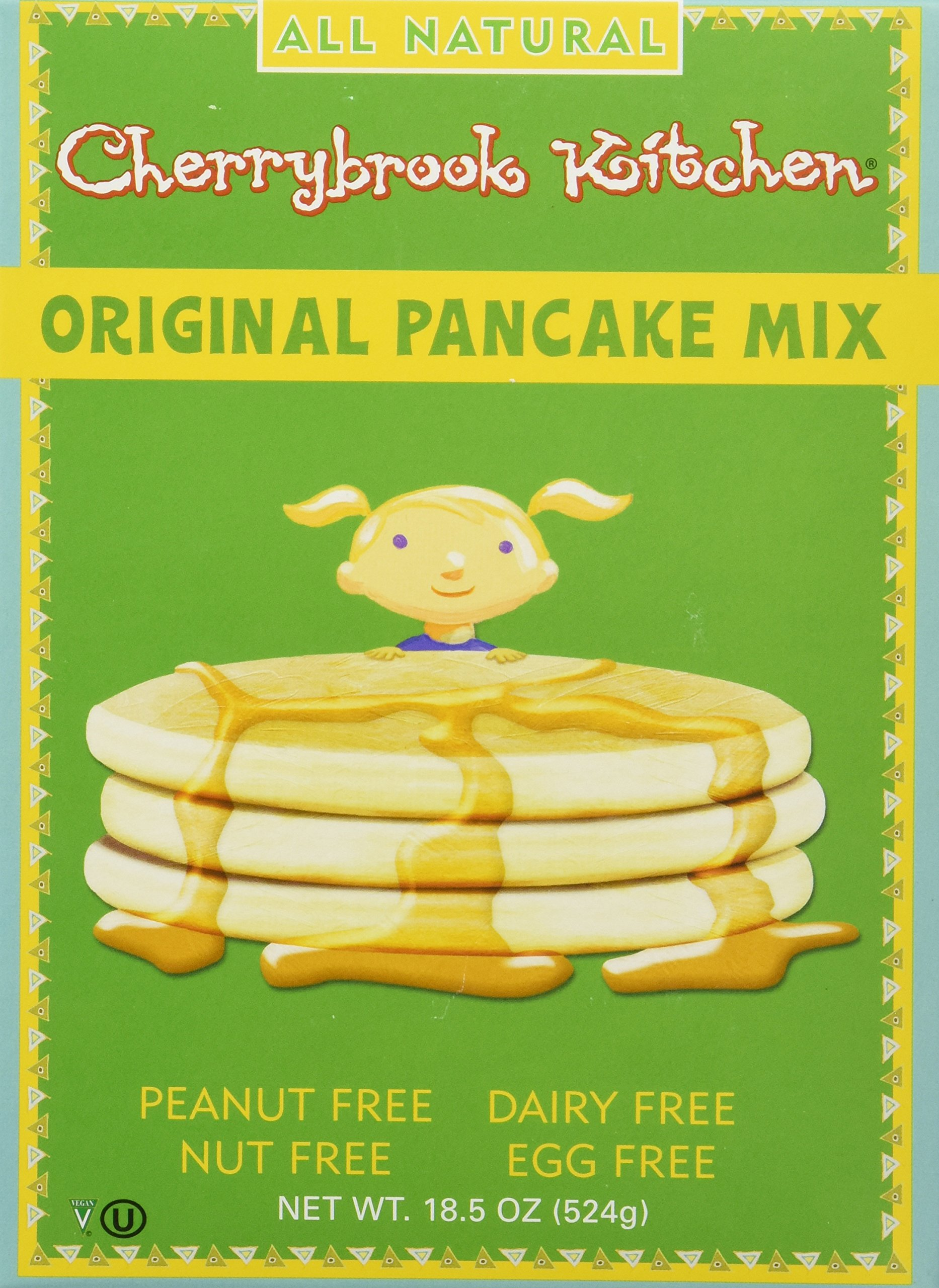 Cherrybrook Kitchen Original Pancake Mix, 18.5-Ounce Boxes (Pack of 6)