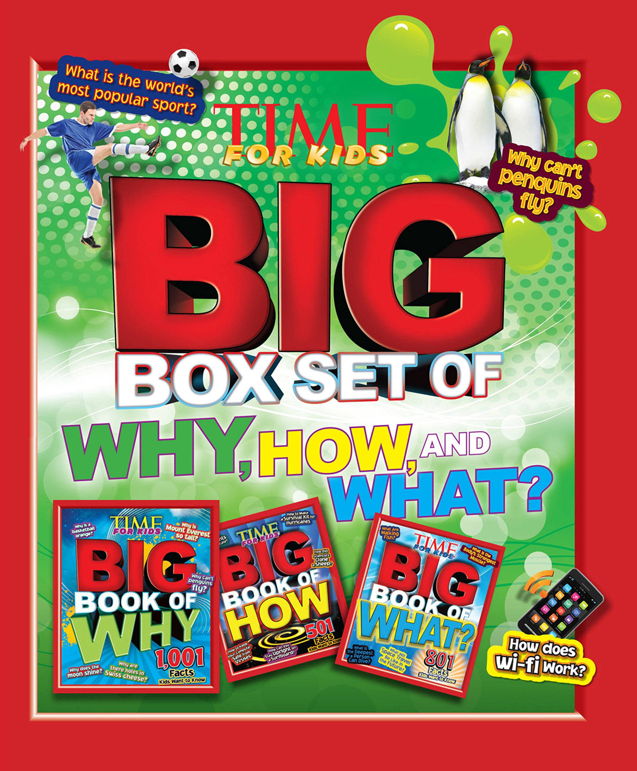 TIME For Kids Big Box Set of Why, How and What?