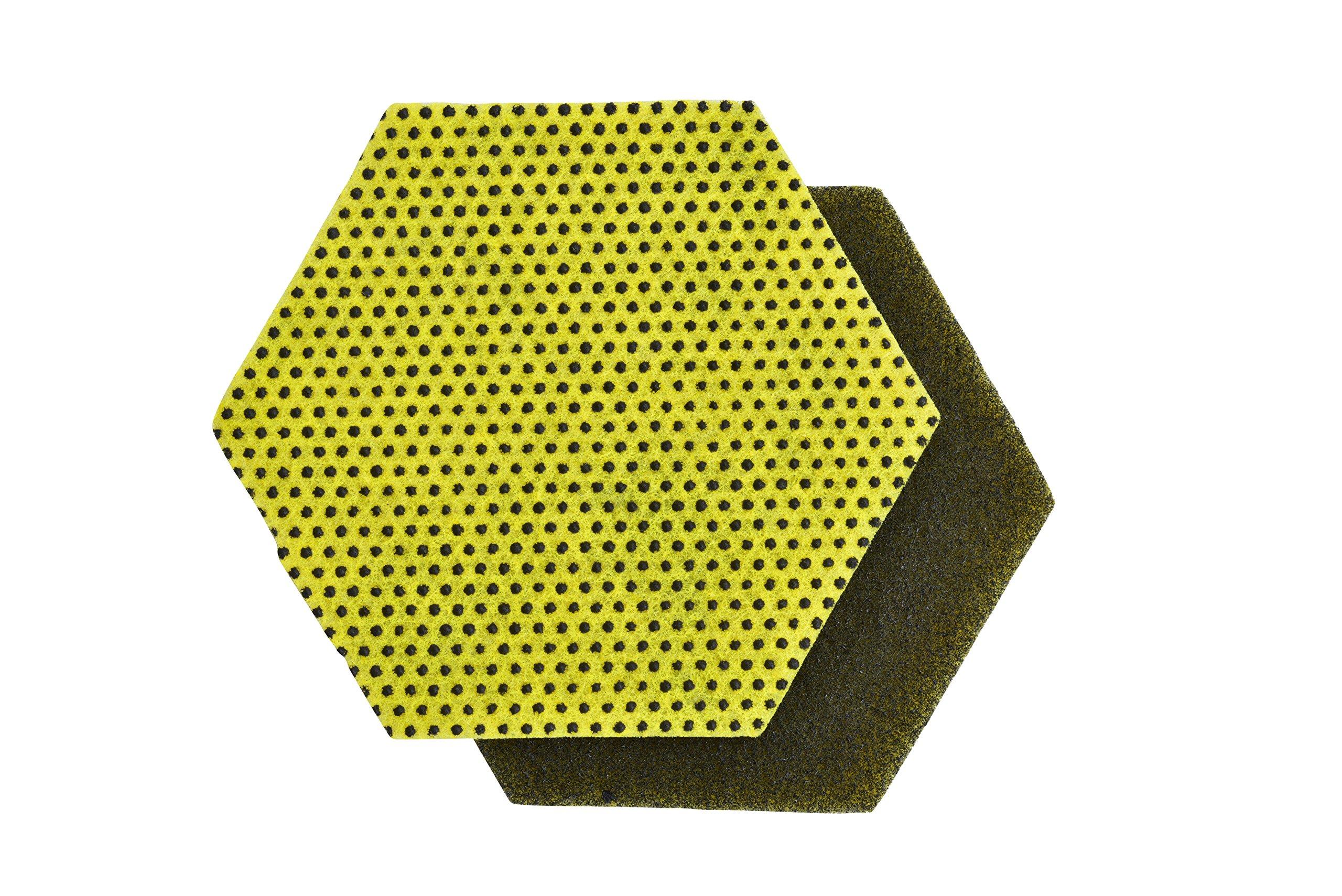 Scotch-Brite 85946 Dual Purpose Scour Pad 96HEX (Pack of 15) by Scotch-Brite (Image #1)