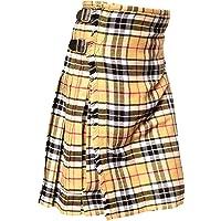 Faldas escocesas tradicionales de tartán de 8 yardas