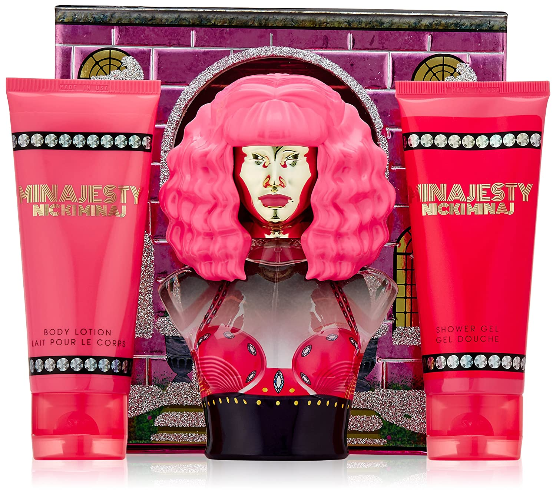 Amazon.com : Nicki Minaj Minajesty 3 Piece Gift Set : Bath And ...