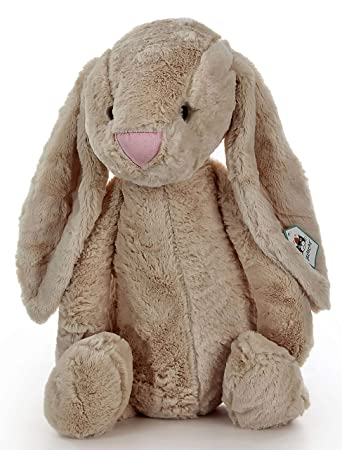 LOFA Brown Bunny Plush Toy