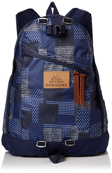 Day Pack: Indigo Patchwork