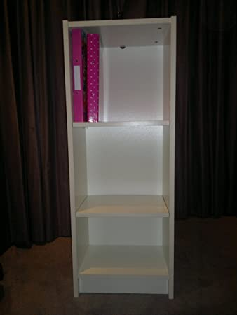 small white bookcase max load 15kg by ikea