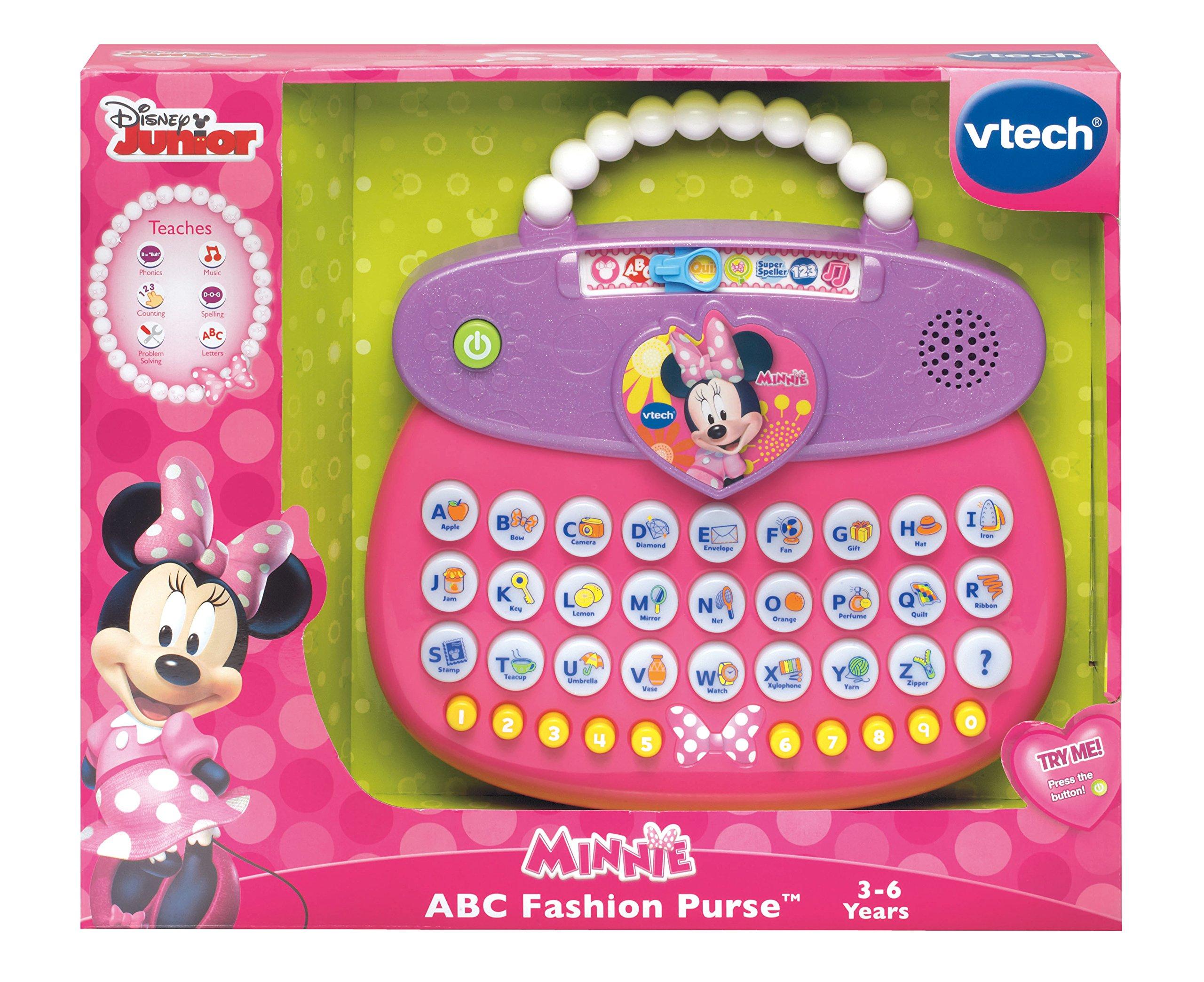VTech Disney Minnie ABC Fashion Purse by VTech (Image #2)