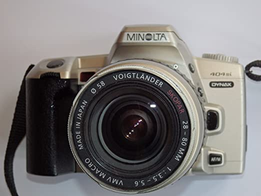 Minolta Dynax 404si – SLR Camera – Cámara réflex analógica – Solo ...