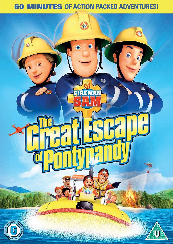 Bob the builder live online dvd rental - Fireman Sam The Great Escape Of Pontypandy Dvd