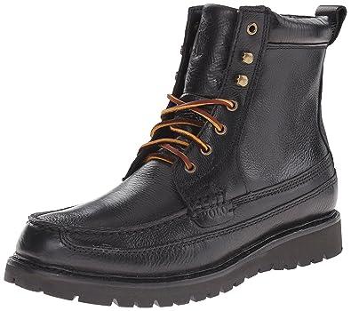Polo Ralph Lauren Men's Willingcot Boot, Black, ...