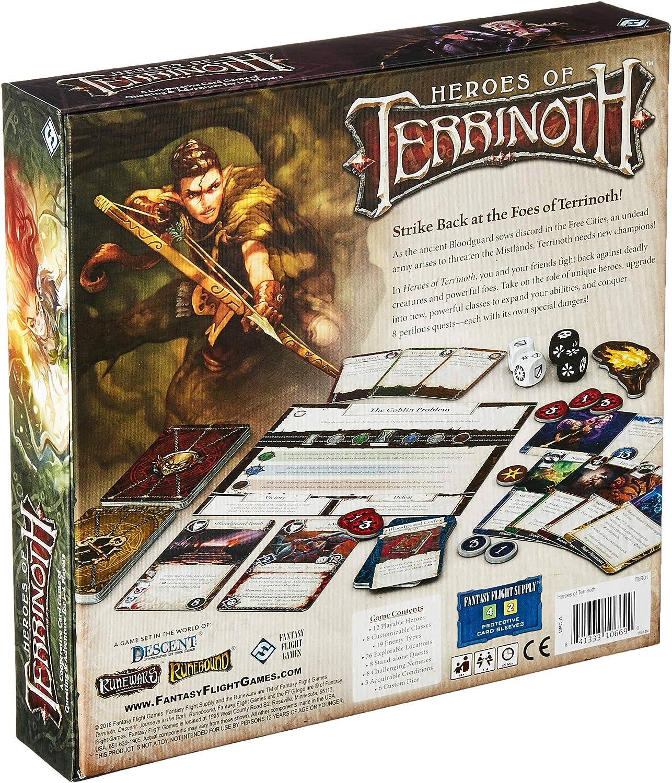Fantasy Flight Héroes de Terrinoth Español Color