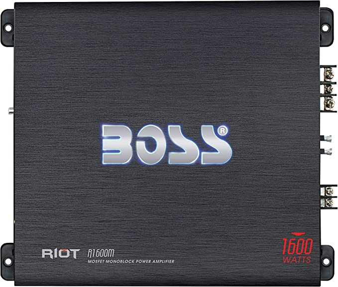 Boss Audio R3400D Riot Class D Monoblock Amplifier 3400W Max