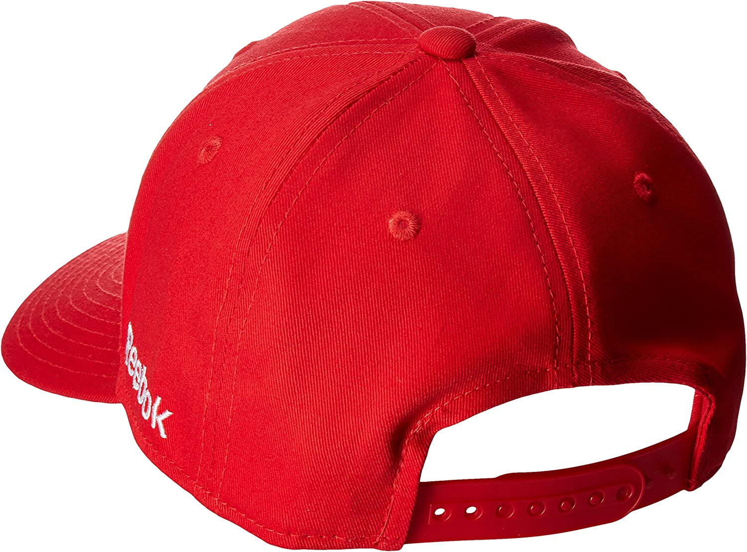 Red NHL Chicago Blackhawks Womens SP17 Sequenced Structured Adjustable Cap One Size