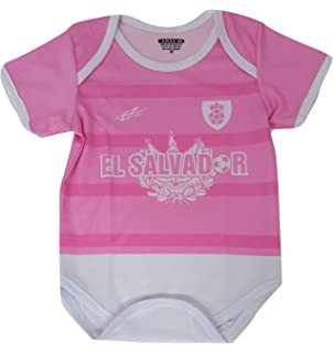816b801672a Amazon.com  El Salvador Soccer Baby Outfit Onesie Mameluco  Clothing
