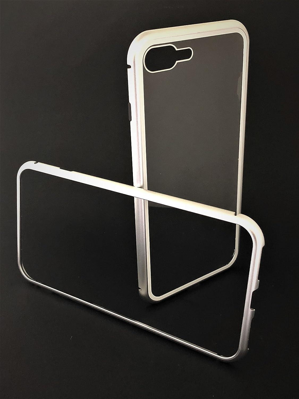 JIREH Funda 360 iPhone 7/8 DE Aluminio MAGNETICA,Carcasa 360 ...