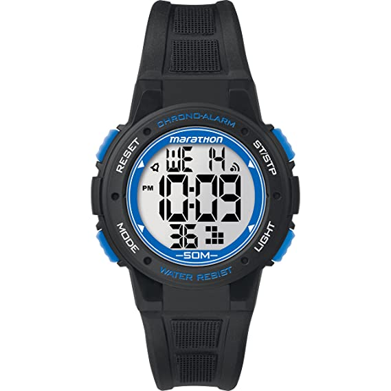 Amazon Marathon By Timex Unisex Tw5k84800 Digital Mid Size