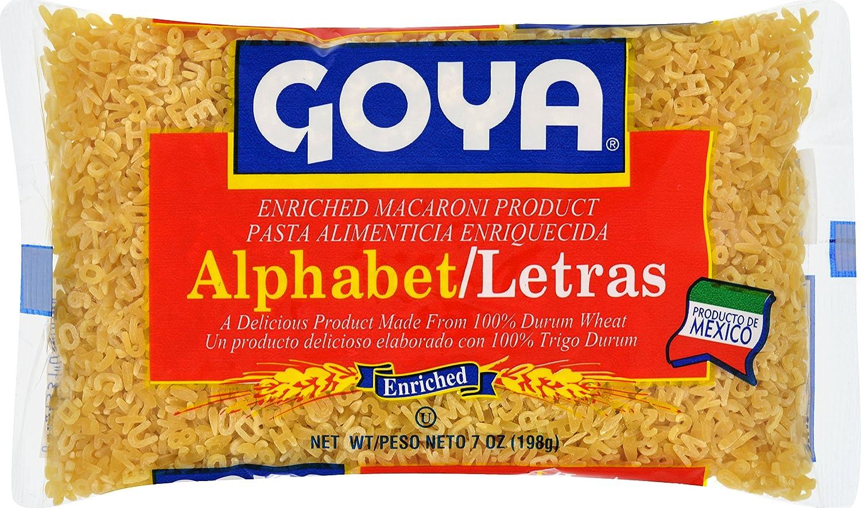 Goya Foods Alphabet Letras, 7 oz