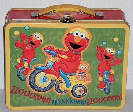586eb23a1291 Sesame Workshop Elmo Embossed Metal Lunch Box