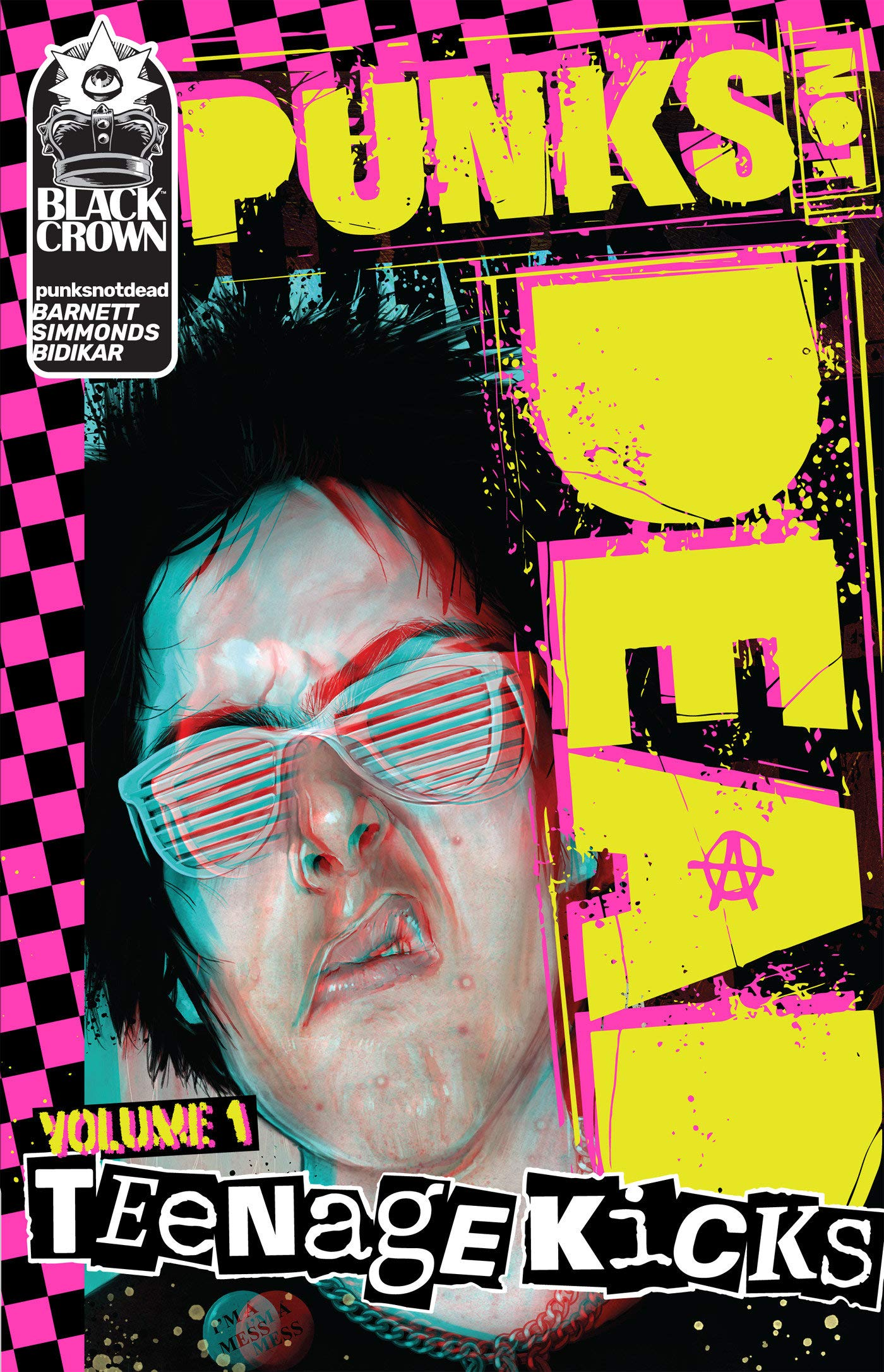 Punks Not Dead, Vol  1: Teenage Kicks: David Barnett, Martin